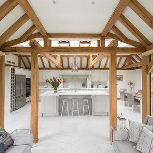 Cucina rustica Midlands Occidentali - Foto e Idee per Ristrutturare ...