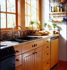 traditional kitchen by David Vandervort Architects