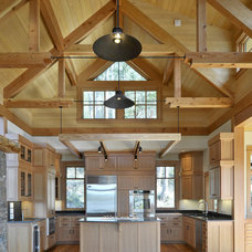 Rustic Kitchen by David Vandervort Architects