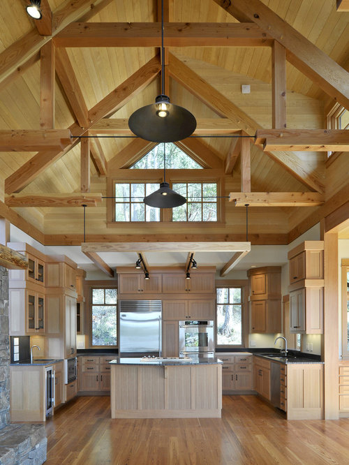 Exposed Architectural Trusses Ideas Pictures Remodel And