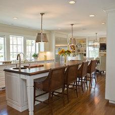 Traditional Kitchen by SJMac Gregor Builders, LLC