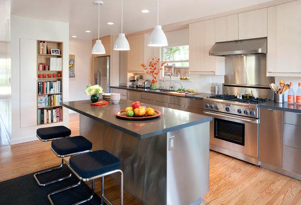 Contemporary Kitchen by Eisenmann Architecture