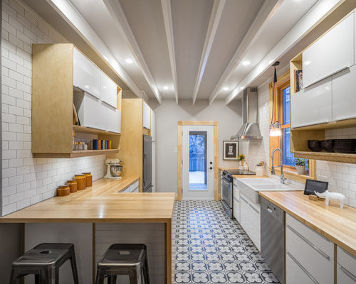 Small home design ideas pictures remodel and decor for Houzz cocinas