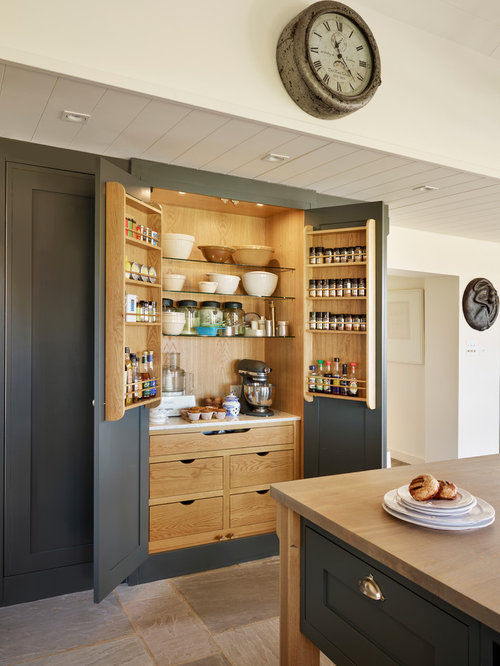 Kitchen pantry design ideas remodel pictures houzz for Country kitchen pantry ideas