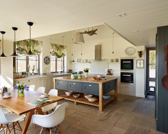 Classic Country Kitchen orford | a classic country kitchen with coastal inspiration.