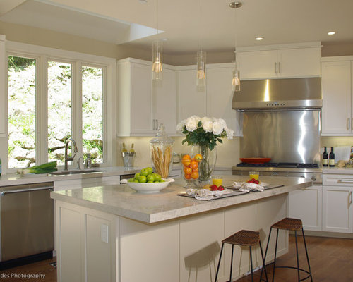 the island kitchen bianco drift caesarstone home design ideas renovations 2716