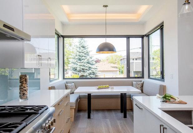 Contemporary Kitchen by Devise Design