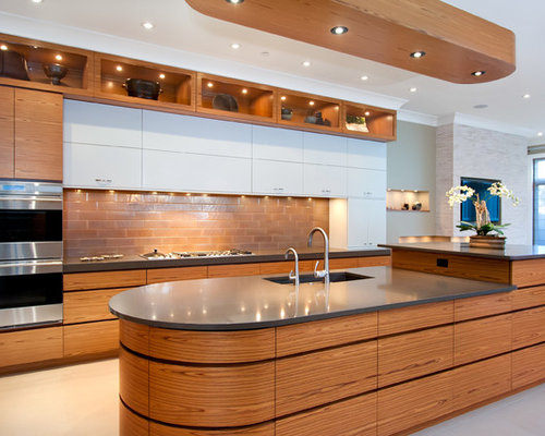 Oval Kitchen Islands Home Design Ideas Pictures Remodel