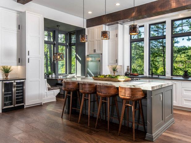 Рустика Кухня by Living Stone Design + Build