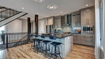 Organik Charisma Hardwood Flooring - Kitchen