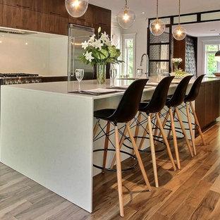 Organik Charm Hardwood Flooring - Kitchen