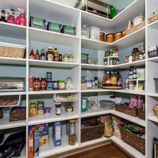 Huge kitchen pantry appliance - Kitchen pantry - huge u-shaped kitchen pantry idea in Charlotte