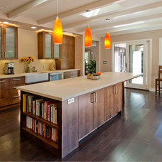 Contemporary Kitchen by Canyon Construction