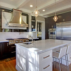 Transitional Kitchen by Sterling Interiors