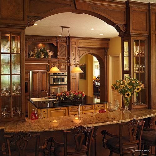 Mediterranean Kitchen Cabinets: Mediterranean Kitchens