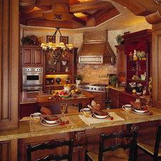Mediterranean Kitchen by Busby Cabinets