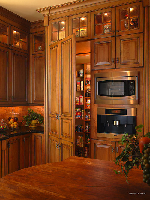 Hidden pantry door home design ideas renovations photos for Hidden pantry doors