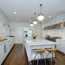Transitional Kitchen by Petrick Architecture