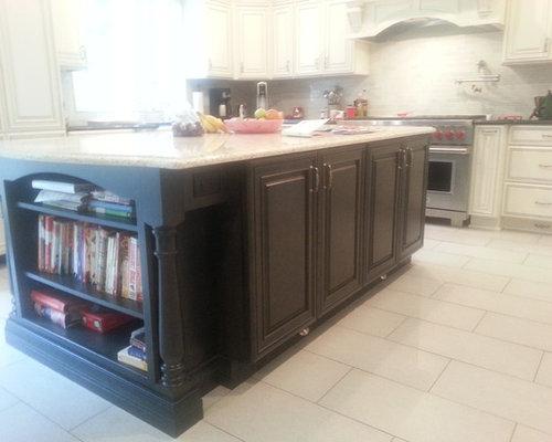Ideas para cocinas | Fotos de cocinas con armarios con paneles con ...