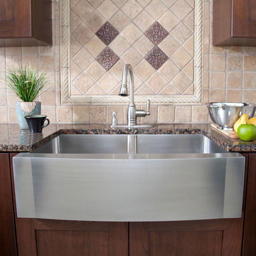 Affordable Farmhouse Sink : Contemporary Farmhouse Sinks Home Design Ideas & Photos