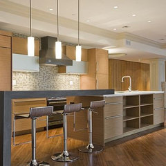 modern kitchen by OTM Designs & Remodeling Inc