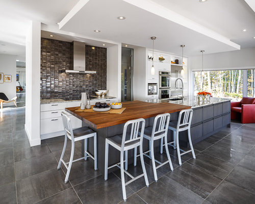 Large Center Island With Seating Houzz