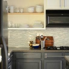 Contemporary Kitchen Our Budget DIY Kitchen Revamp