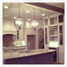 Traditional Kitchen by Foster Signature Homes