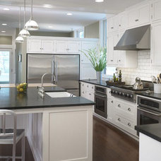 Traditional Kitchen by pripstein + davies architects