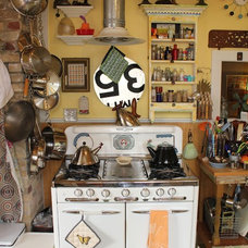 Eclectic Kitchen our kitchen