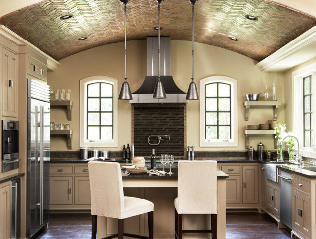 Contemporary Kitchen by Linda McDougald Design   Postcard from Paris Home