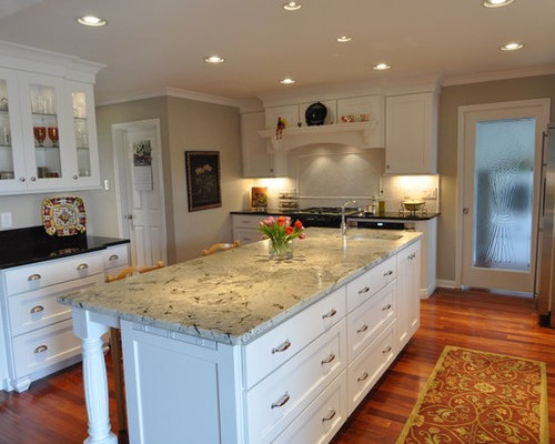 Mouser White Kitchen Remodel In Knoxville Tn