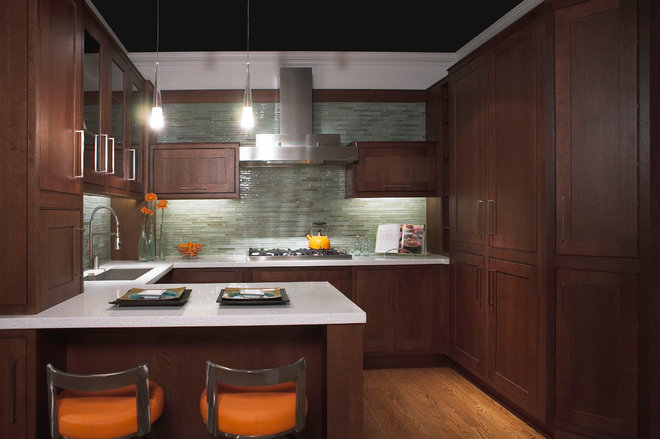 Contemporary Kitchen by Lakeville Industries