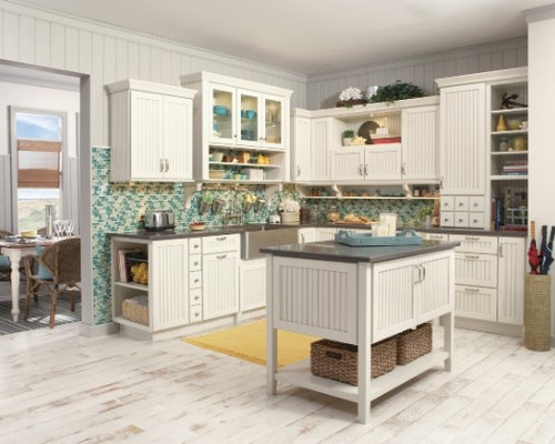 White and wood grain kitchen cabinet home design ideas for White wood grain kitchen cabinets