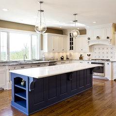 White Transitional Kitchen Remodel