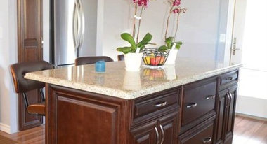 CABINET REFACING -We take your old cabinets and transform them into ...