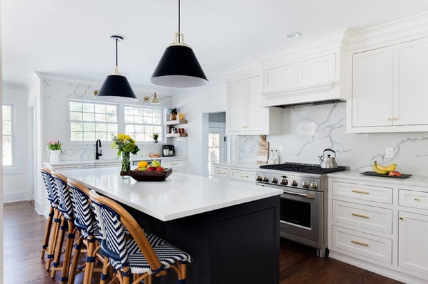 Transitional Kitchen by NC Interiors