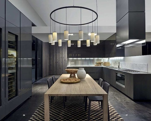Kitchen design ideas renovations photos with black for Black onyx kitchen cabinets
