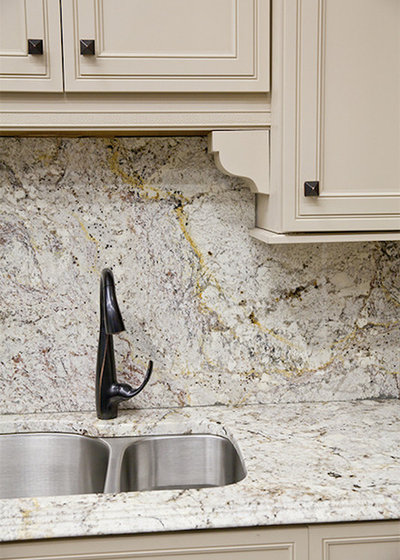 American Traditional Kitchen by XLT Construction