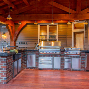 Outdoor Kitchen & Entertainment Patio