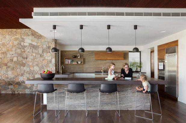 コンテンポラリー キッチン by Neil Cownie Architect Pty Ltd