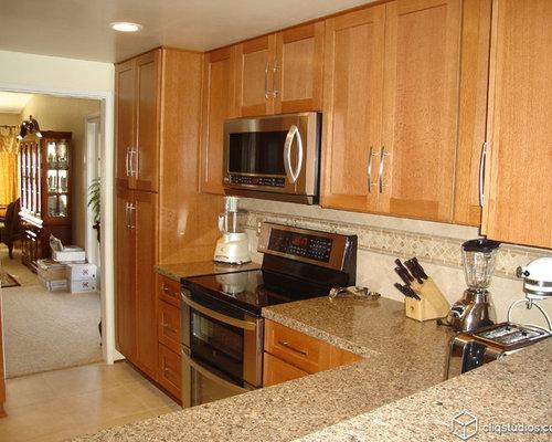 Golden Oak Cabinets Houzz