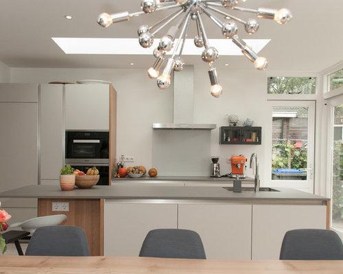 Scandinavian Kitchen Diner Design Ideas Renovations Photos With Cork Flooring