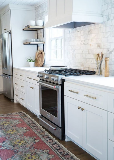 Transitional Kitchen by Earthway Enterprises, Inc