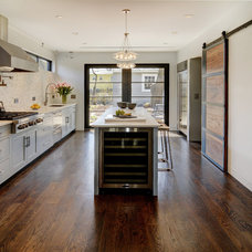 Transitional Kitchen by Oasis Architecture