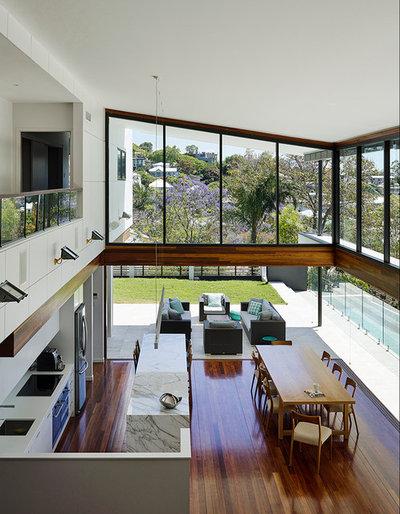 Contemporary Kitchen by Tim Stewart Architects