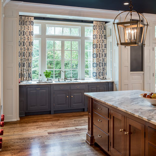 75 Beautiful Blue Kitchen Cabinets Pictures & Ideas | Houzz