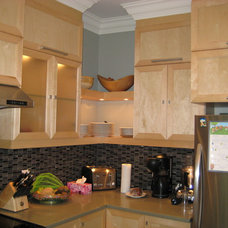 Contemporary Kitchen by AFCON Construction