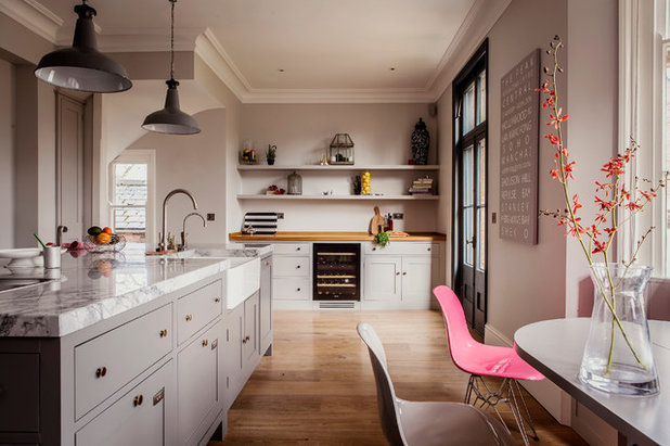 Transitional Kitchen by JOHNSTON PARKE INTERIORS