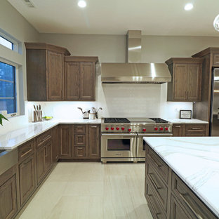 Oxford Stained Oak Kitchen